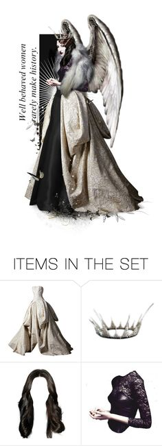 """Empress"" by teodorakralj ❤ liked on Polyvore featuring art"