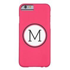 customizeable monogram iPhone 6 case