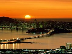 I'd ride to watch the sunset on the Bay.... #ridecolorfully