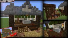 Minecraft Transform A Butcher Shop! Japanese Style! Japanese shop Minecraft Butcher shop