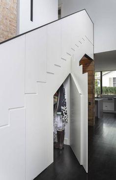 Palma Plaza Residence : Couloir, entrée, escaliers modernes par Hugh Jefferson Randolph Architects
