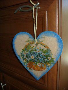 Decoupage heart decoupage ornament retro heart home by goshet