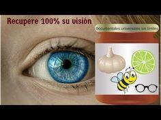 Dile adios a tus lentes y mejora tu vista con esta increible receta casera - YouTube