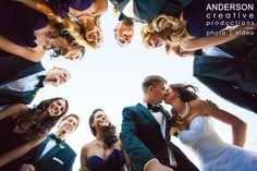 Such a cool wedding photo!!