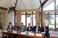 Some of the speakers at the 2015 Eden Tourism Summit