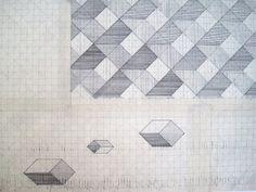 drawdrawdraw: Ann Clare: maps and geometrics