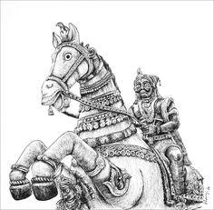 Buy original art and limited edition prints. Abstract Pencil Drawings, Lord Shiva Painting, Art Village, Indian Folk Art, Indian Art Paintings, India Art, Buddha Art, Horse Drawings, Renaissance Art
