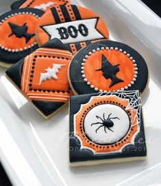 Vintage halloween cookies - She makes the most amazing cookies!!