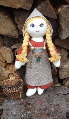 Viking Doll  Viking rag doll ONE of a KIND by ThePracticalViking