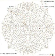 822 Best Crochet Pinapple Square Doilies Diagrams Images Crochet