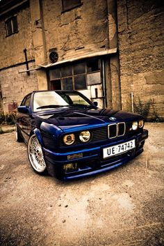 BMW E30 - I´ve had two of these, not nearly in as good shape as this one though...