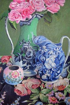 Roses Galore by Kaffe Fassett by constance