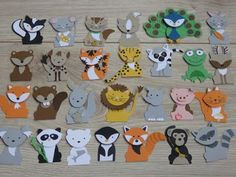 Ideas for using the StampinUp Fox Builder Punch and Foxy Friends Stamp Set