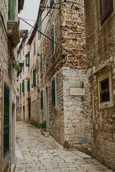 "Šibenik Croatia - Braavos, you may even come across the fabled ""house of black and white"""