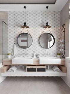 Salle de bain design luxe : une variété des salles de bain blanches et grises luxueuses