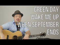 Green Day - Wake Me Up When September Ends - Guitar Lesson - how to play - Acoustic Songs - YouTube