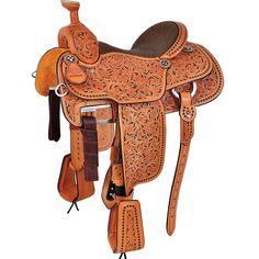 martin full tool team roping saddle - Google Search