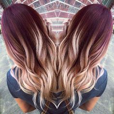 Red ombre hair 2017 all hairstyles, hair color balayage Winter Hairstyles, Long Hairstyles, Gorgeous Hairstyles, Latest Hairstyles, Wedding Hairstyles, Pelo Lolita, Hair Color And Cut, 2 Tone Hair Color, Fun Hair Color