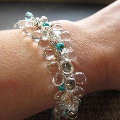 Icicle Bracelet - via @Craftsy