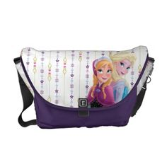 Sisters Messenger Bags customizable Frozen Elsa and Anna bag Frozen Elsa And Anna, Disney Frozen, Disney Mouse, Disney Magic, Frozen Merchandise, Phineas And Ferb, Pack Your Bags, School Backpacks, Beautiful Bags