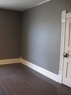 Love this color! 1893 Victorian Farmhouse: East Bedroom - Paint Color