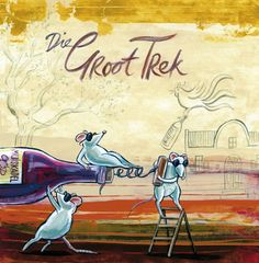 'Die Groot Trek' by Frans Groenewald