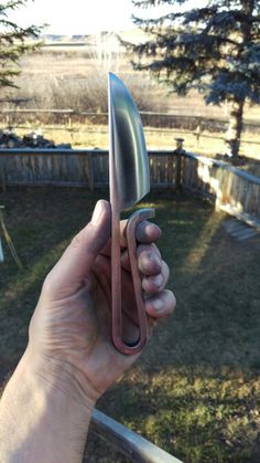 Hand forged Viking style knife