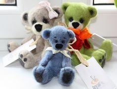 felted bears