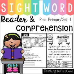 These reading comprehension packets include the following activities:-Read 3 times for fluency-Short answer questions-Fill in the blank questions-Multiple choices-Match the story with the pictures, and-Sequencing.These reading passages are great for both beginning readers, struggling readers, and ESL students in Kindergarten,1st grade, and 2nd grade.