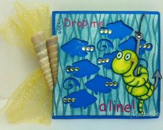 this handmade card was made with Crackerbox stamps over at Quirky Crafts for a challenge.