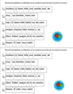 p Spanish Classroom Activities, Activities For Kids, Grammar Activities, Spanish Language Learning, Teaching Spanish, Speech Language Therapy, Speech And Language, Dual Language Classroom, Elementary Spanish