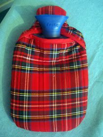LilyRibbons: Hot Water Bottle Cover Tutorial