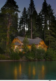 traditional exterior by Ward-Young Architecture & Planning - Truckee, CA - cabin in the woods