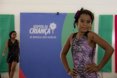 Keilany Souza contou que se sentia linda enquanto desfilava.