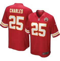 Nike Boys' Home Game Jersey Kansas City Chiefs Jamaal Charles #25 - Dick's Sporting Goods