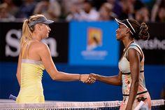 Maria Sharapova and Venus Williams  ♥ ♥ MaSha ♥ ♥
