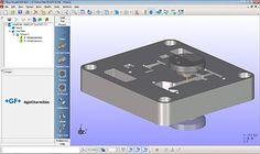 AC CAM Easy. Fikus VisualCAM for Agie Charmilles wire EDM machines. #cadcam #mgf #manufacturing #machining