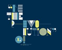 Alicia Font by Alexander Wright, via Behance