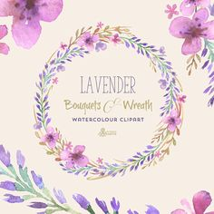 This set of 3 high quality hand painted watercolor clipart (1 wreath, 2 bouquets). Perfect graphic for wedding invitations, greeting cards, quotes and more.   -----------------------------------------------------------------  INSTANT DOWNLOAD Once payment is cleared, you can download your files directly from your Etsy account.  -----------------------------------------------------------------  This listing includes:  1 x Wreath: 1 JPG (white background), 1 PNG (transparent background) 2 x…