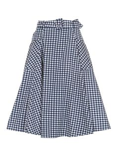 Mia Gingham Skirt 0