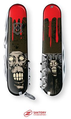 Zombie Apocalypse Swiss Army Knife: Saktory Studio Edition