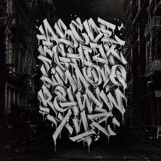22 Graffiti Alphabets that will blow your mind Graffiti Alphabet Styles, Graffiti Lettering Alphabet, Graffiti Words, Graffiti Pictures, Graffiti Writing, Graffiti Tagging, Street Art Graffiti, Graffiti Artists, Graffiti Wildstyle