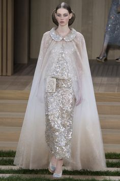 Chanel Spring 2016 Couture Fashion Show - Lauren de Graaf (Elite)