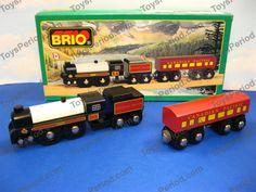 BRIO - BRIO 33431 The Canadian Pacific Royal Hudson Wooden Train