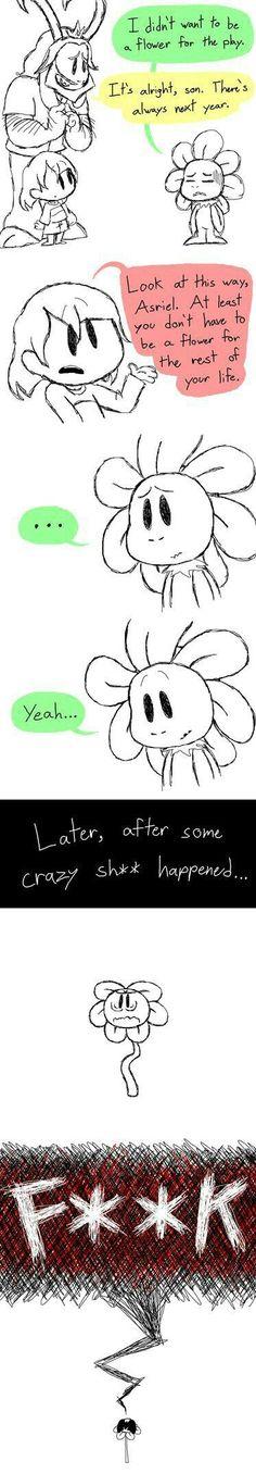 Poor Asriel XD