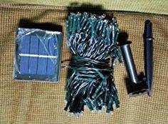 14€  200 luces solares de la secuencia del LED, iluminación de hadas al aire libre impermeable para la Navidad, hogar, jardín, yarda, patio, pórtico, árbol, decoración de fiesta, 22M, 8 modos (Blanco): Amazon.es: Iluminación