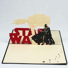 Star War 3D Pop-Up Card -style3dcard