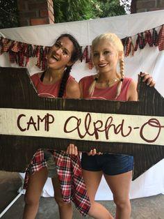 Camp alpha o bid day