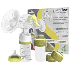 SweeSlee Smart - уникальная система сцеживания, кормления и хранения грудного молока!