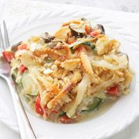 Zucchini and Eggplant Bake  --  just made this today, sooo good!!